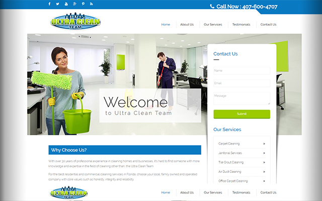 Cleaning-Company-Website